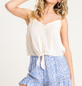 Lush Knotted Button Cami
