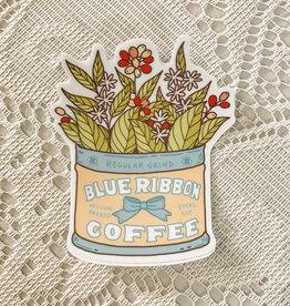 Art by Ciara Coffee Planter Sticker