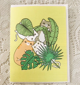 Art by Ciara Fronds & Cats Card