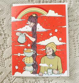 Art by Ciara Tea Party Card