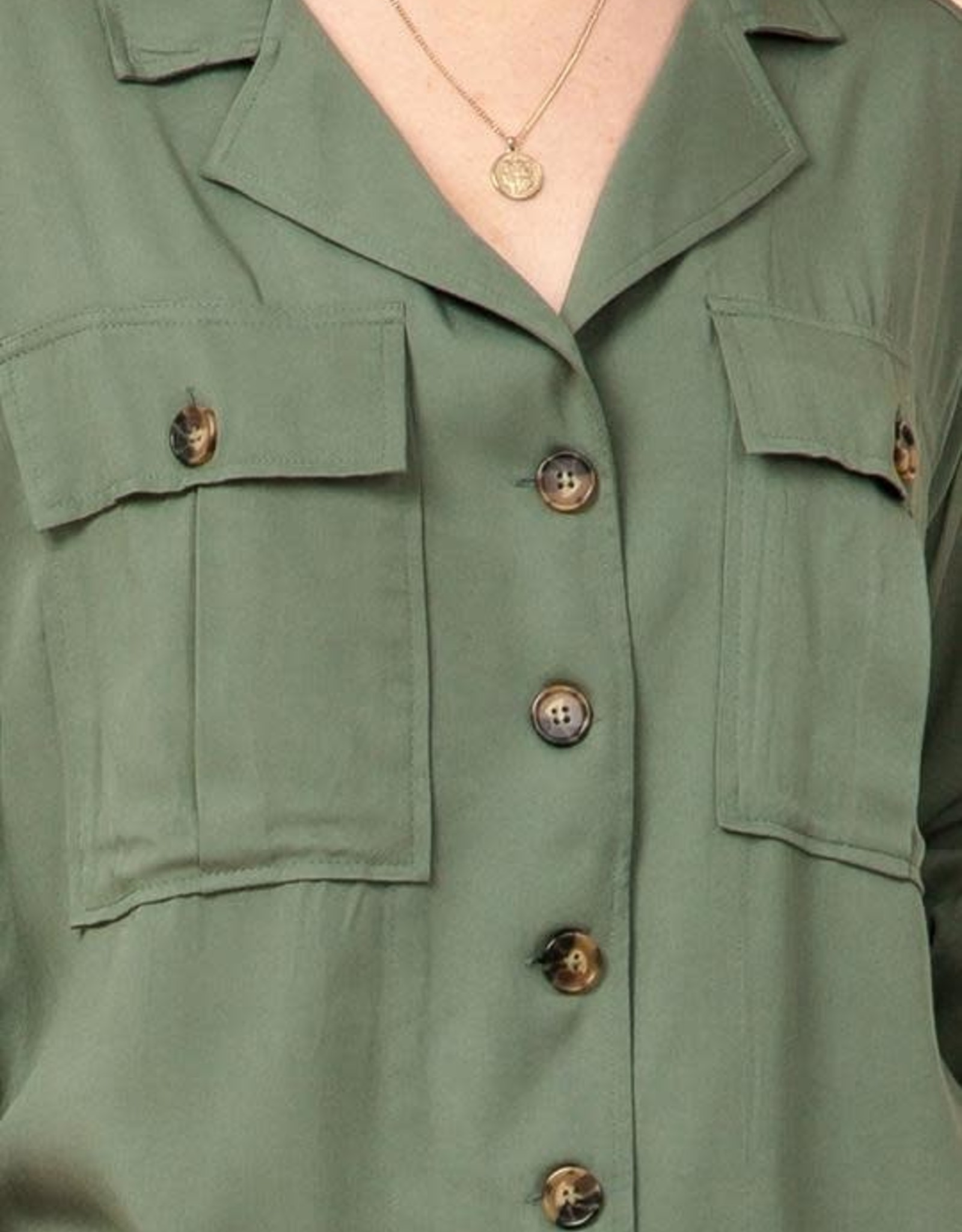 HYFVE Oversized Button-Up