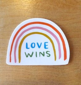 Abbie Ren Love Wins Sticker
