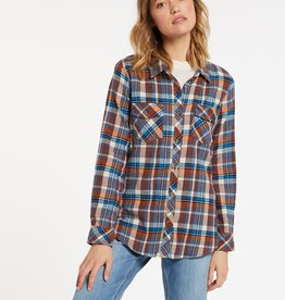 Volcom Getting Rad Plaid Flannel