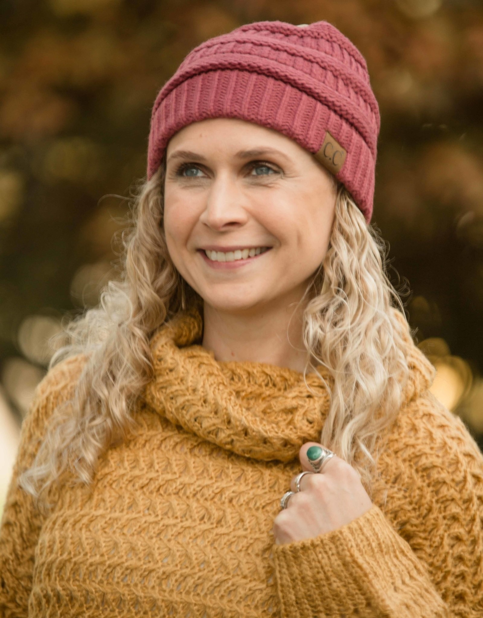 Joia CC Solid Beanie