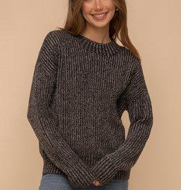 Hem & Thread Shimmer Pullover