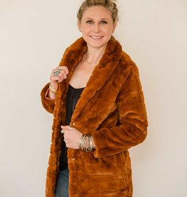 Wild Heart Faux Fur Coat