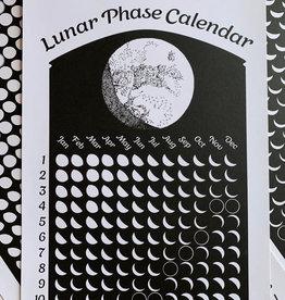 The Original Lunar Phase 2021 Lunar Phase Calendar