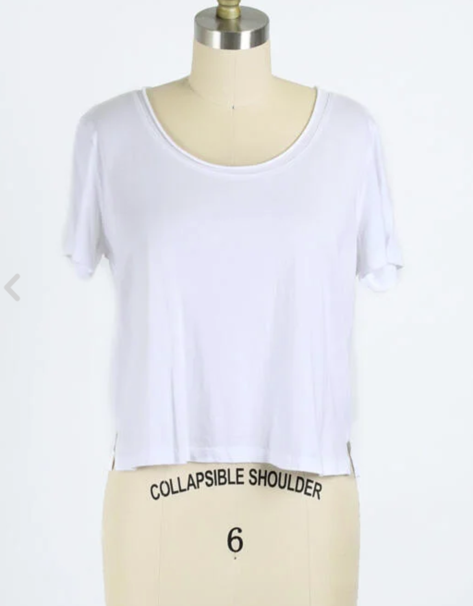 Final Touch Cropped Tee