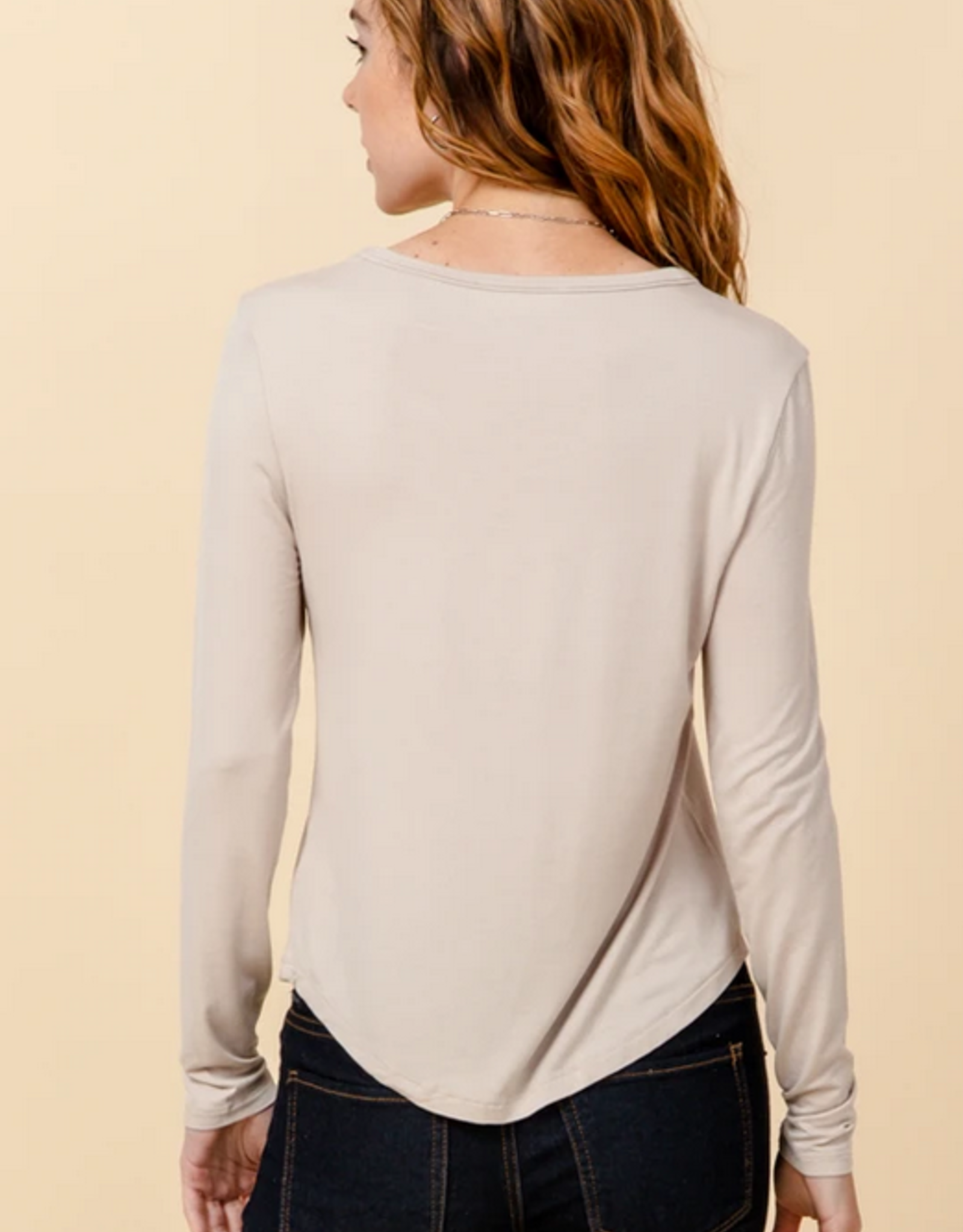 HYFVE Fitted Long Sleeve Top