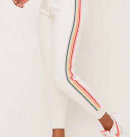 Lush Rainbow Stripe Joggers