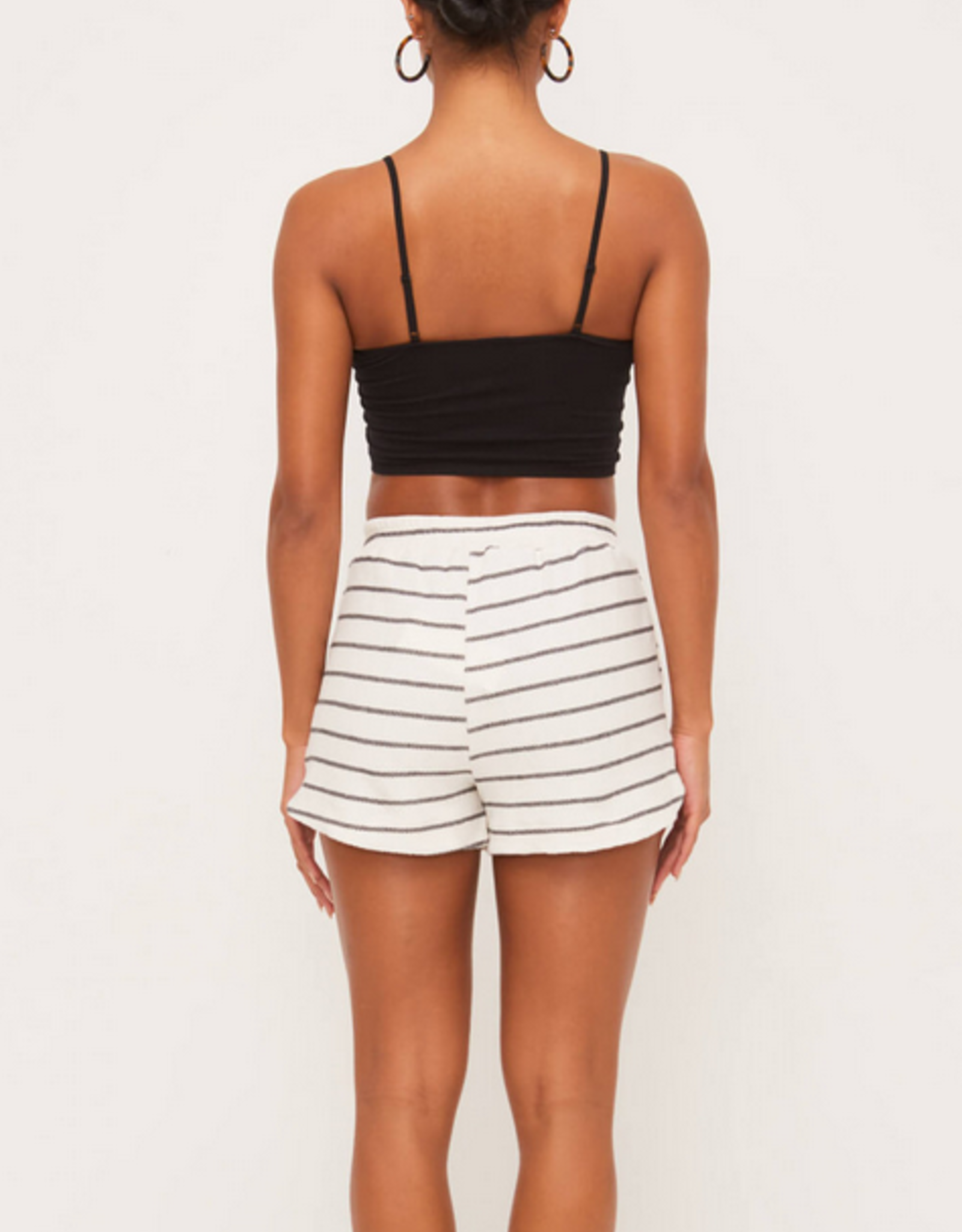 Lush Striped Terry Shorts