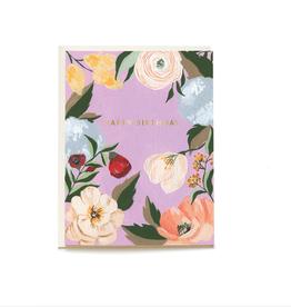 Pen + Pillar Lilac Garden Birthday Card