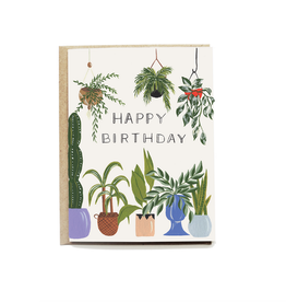 Pen + Pillar Plant Lover Birthday Card