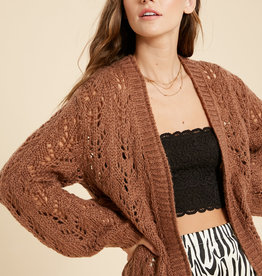 Wishlist Crochet Cardigan