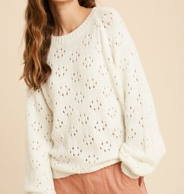 Wishlist Crochet Pullover