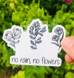 The Funnel Cake Tree No Rain No Flowers Sticker