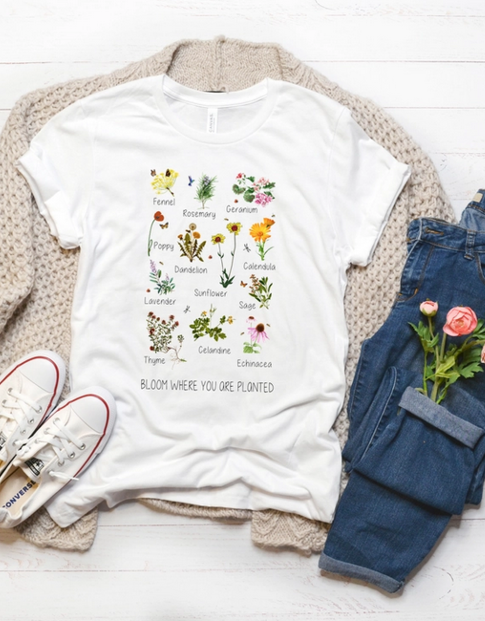 Midwest Tees Bloom Where You Are Planted Tee