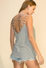 HYFVE Strappy Striped Top