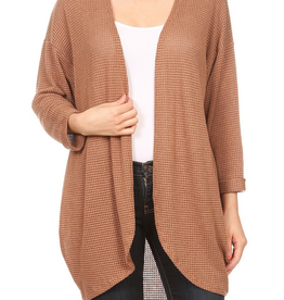 Ginger G Rolled Sleeve Cardigan