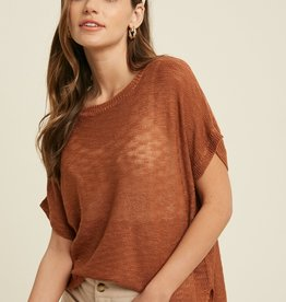 Wishlist Short Sleeve Sweater