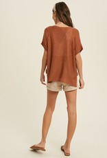 Wishlist Short Sleeve Sweater