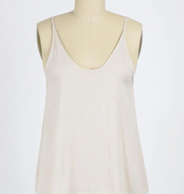 Final Touch Scooped Cami Top