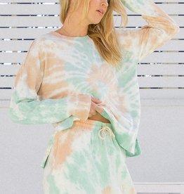 Hem & Thread Tie Dye Pullover