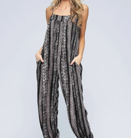 Final Touch Slouchy Boho Jumpsuit