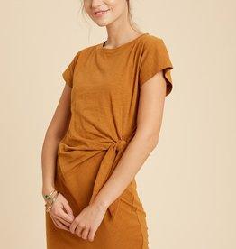 Wishlist Side Knot T-Shirt Dress