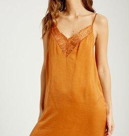 Wishlist Lace Trim Slip Dress