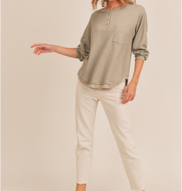 Lush Relaxed Pocket Henley