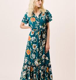 Lovestitch Collared Maxi Dress