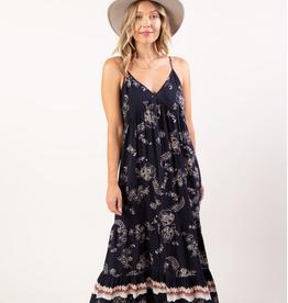 Lovestitch Bordered Maxi Dress