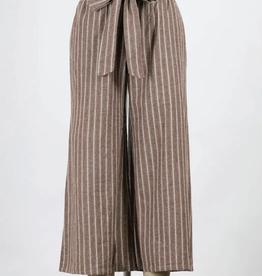 Final Touch Striped Cotton Pants