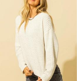 HYFVE Chenille Crew Sweater