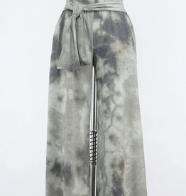 Final Touch Knotted Tie Dye Pants