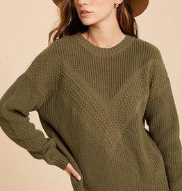 Wishlist Chevron Sweater
