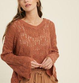 Wishlist Scalloped Sweater