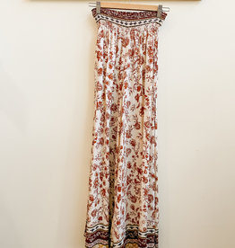 Final Touch Fall Floral Palazzo Pants