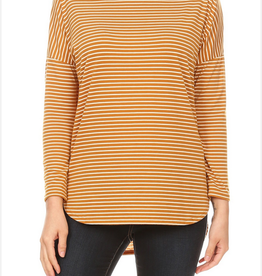 Ginger G Relaxed Stripe Top