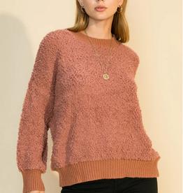 HYFVE Fuzzy Crew Sweater