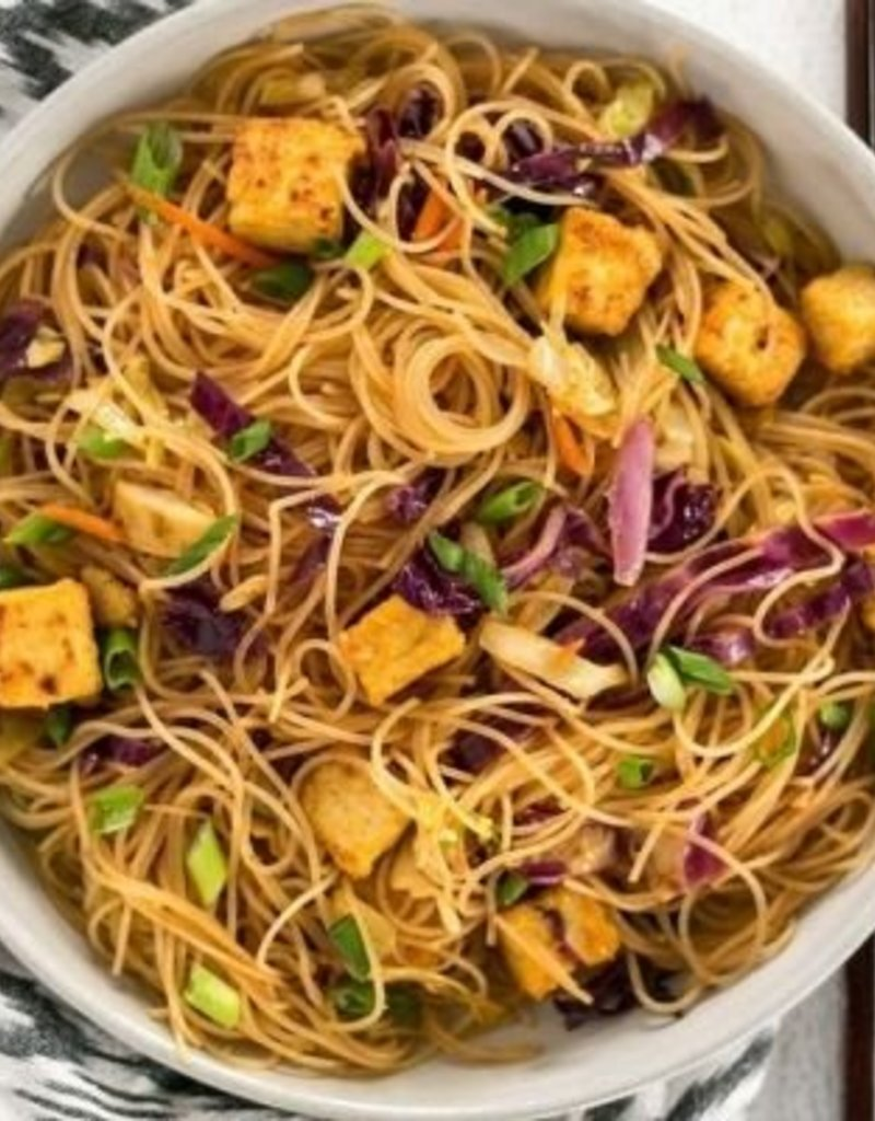 Singapore Chicken Curried Noodles