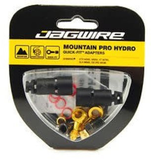 Jagwire Mountain Pro Disc Brake Hydraulic Hose Quick-Fit Adaptor for Shimano XTR M985, M988, XT M785