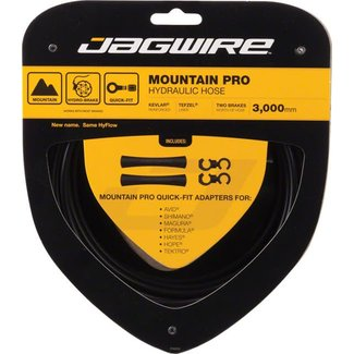 Jagwire Mountain Pro Disc Brake Hydraulic Hose, 3000mm Black