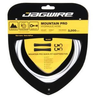 Jagwire Mountain Pro Disc Brake Hydraulic Hose 3000mm, White