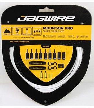 Jagwire Mountain Pro Shift Cable Kit, White