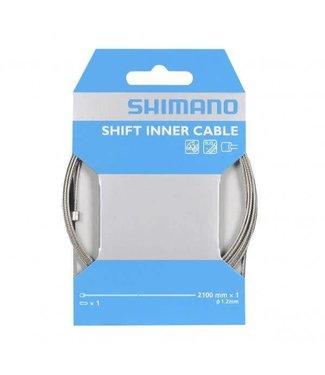 Shimano CABLE DE CAMBIO SHIMANO 1.2 X 2100MM INOXIDABLE POR PIEZA
