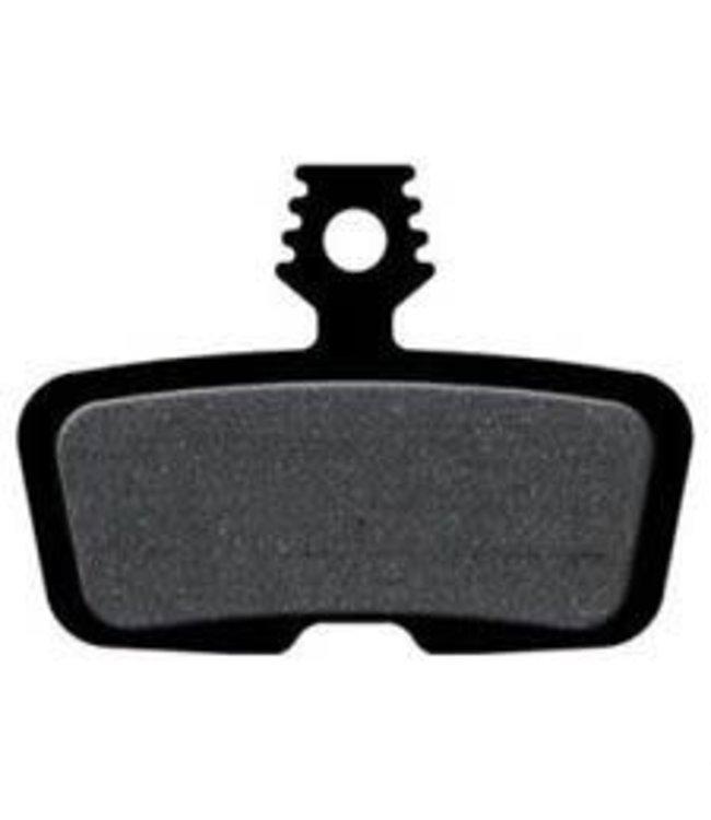 SRAM Balata SRAM/Avid Code, Code RSC, Code R, Guide RE Organic Disc Brake Pad, Steel Back, Pair