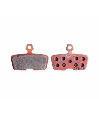 SRAM Balatas SRAM/Avid Code, Code RSC, Code R, Guide RE Metallic Disc Brake Pad, Steel Back, Pair