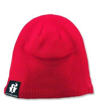 Intense Beanie Knit RED Rojo Gorro Pasamontañas